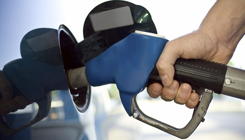 Gas tanken in het buitenland