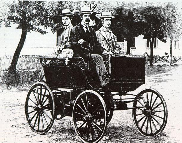 De geschiedenis van gas-aangedreven auto's
